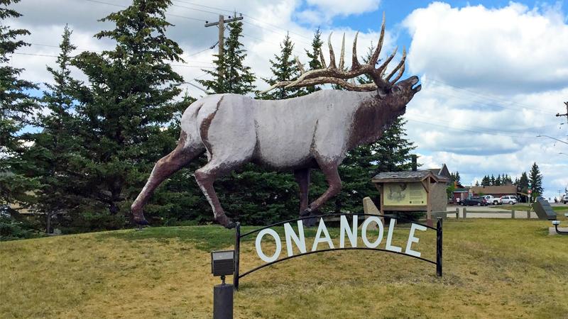 Onanole Sign